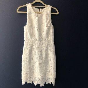 astr: white dress